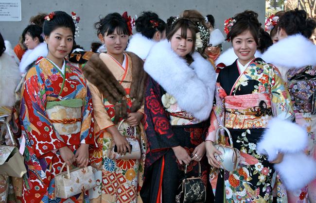 Día de la Mayoría de Edad en Japón