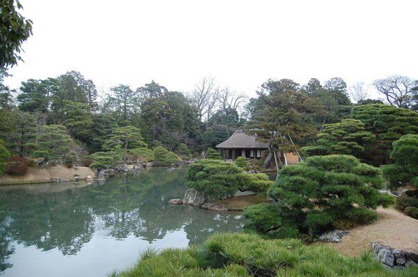 Los jardines japoneses